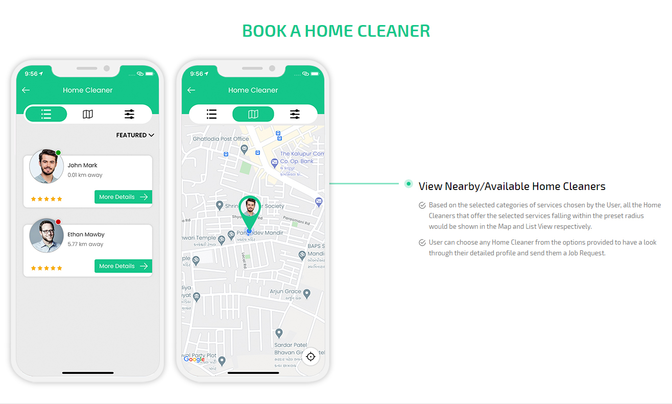 book a House Cleaning