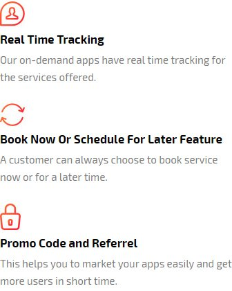 booking scheduling and promo code features