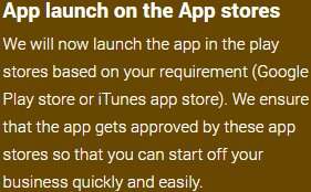 App launch on the App stores