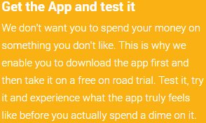 Get the App and test it