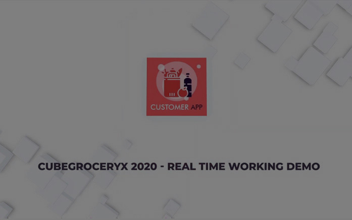 grocery app video
