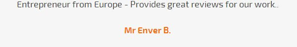 Mr Enver B. review