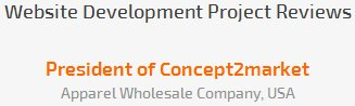 President of Concept2market review