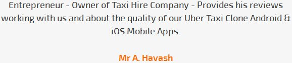 Mr A. Havash review