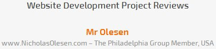 Mr Olesen review