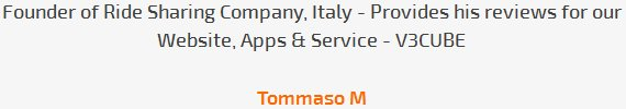 Tommaso M review