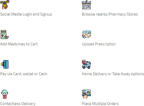 customer app of pharmacy delivery app