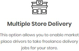 Multiple store delivery