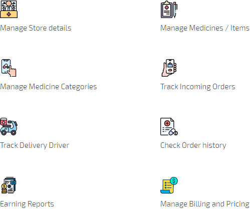 store app of pharmacy delivery app